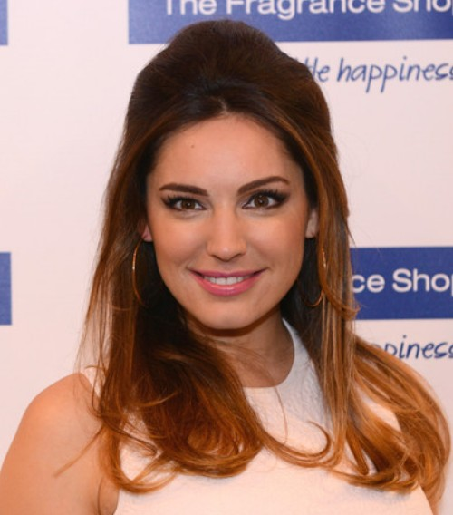 Kelly Brook Ombre hair