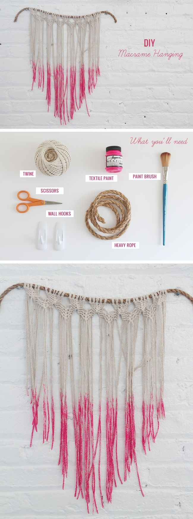 11 macrame DIY projects you will love
