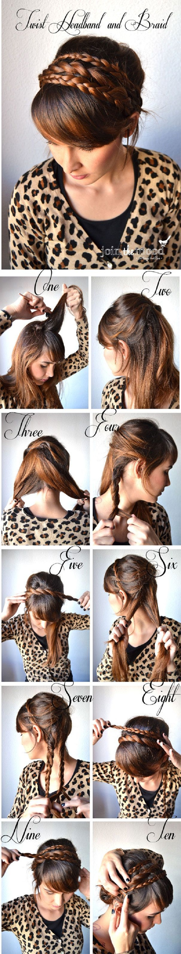 Adorable Hairstyle Tutorials: Braided Updo