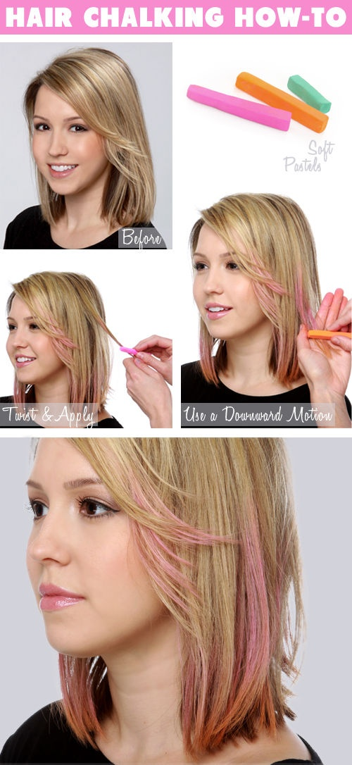 How to use chalk
