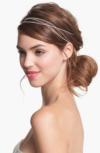 Boho hairstyle with headband