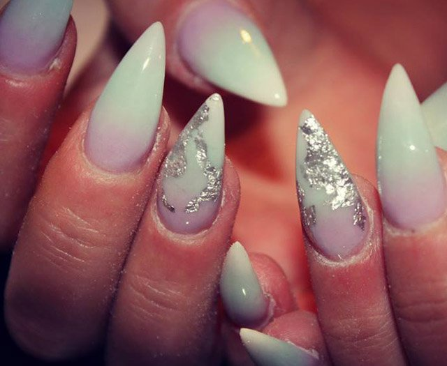White nails for summer nail designs