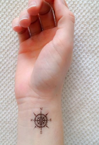 Wrist tiny tattoo