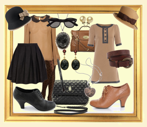 Polyvore outfit idea with oxford shoes