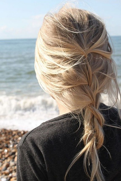 Loose French braid