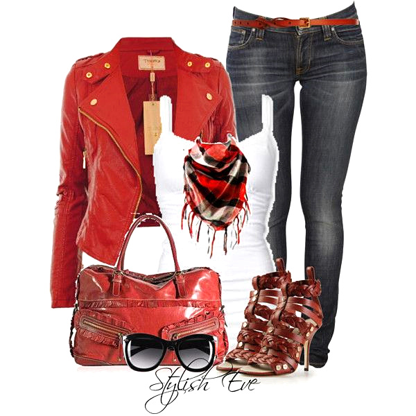 Red fashion cool
