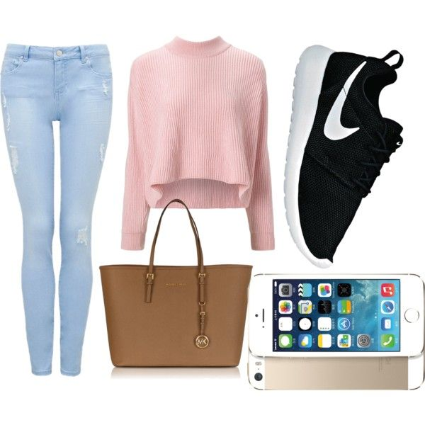 Simple polyvore outfit for school