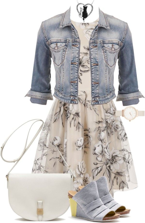 Polyvore outfit for spring