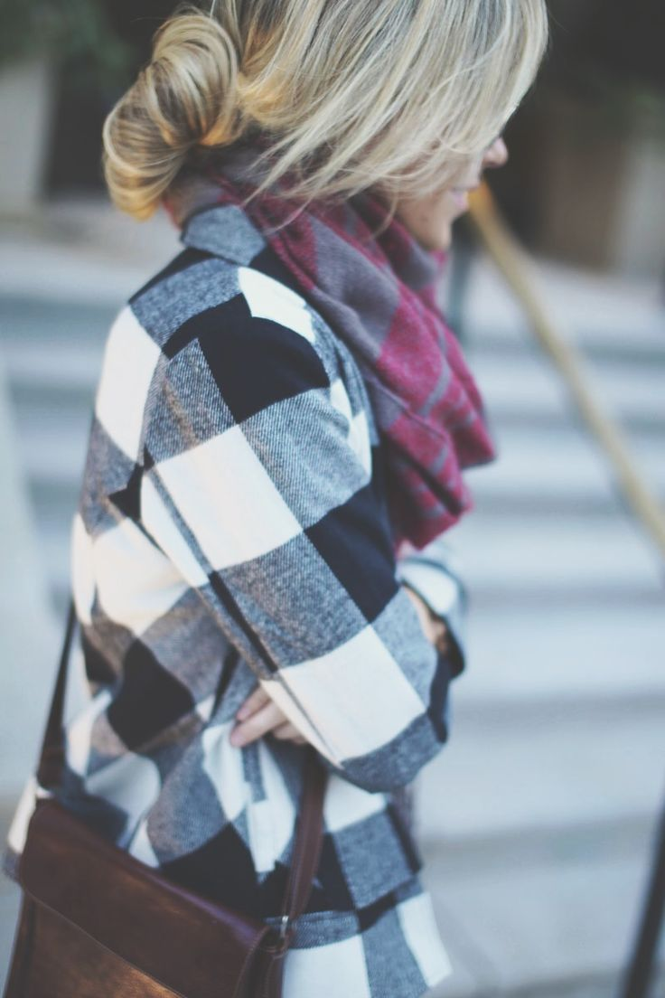 Fall plaid layers
