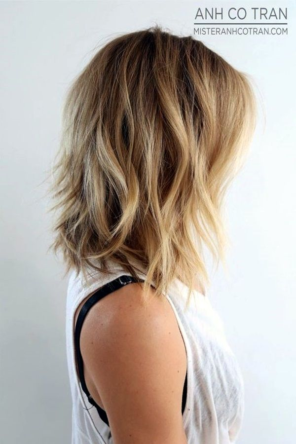 Fantastic simple medium haircuts - shoulder-length hairstyles for women