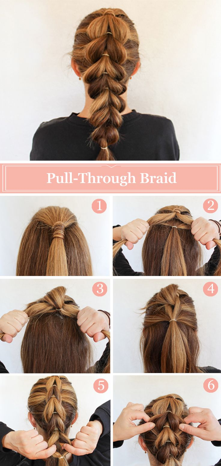 Swipe through Braid Hairstyle Tutorial