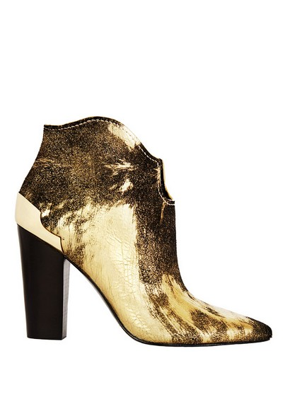 Sigerson Morrison metallic boots