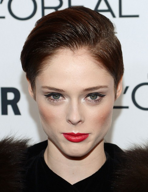 2014 Coco Rocha Hairstyles: Easy Pixie Haircut