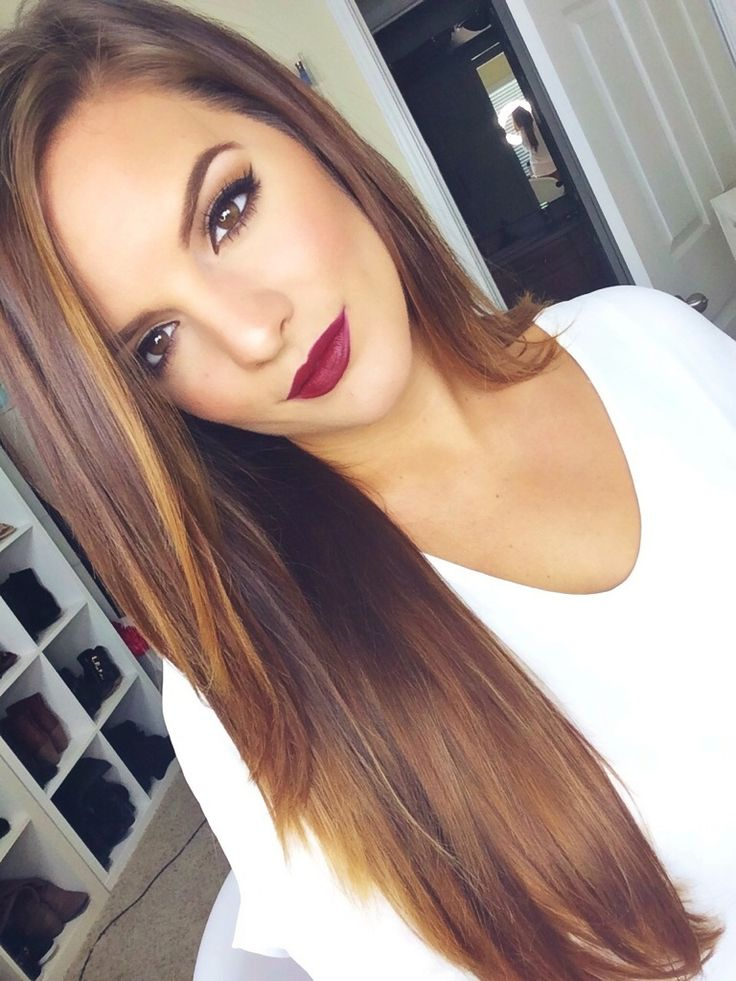 Nice long straight hairstyle