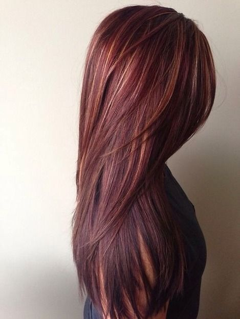 Gorgeous long layered straight hairstyle