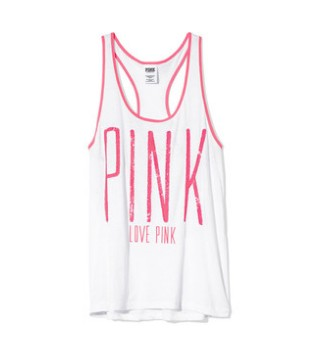 Victoria's secret PINK Sporty racerback tank, loosely cut