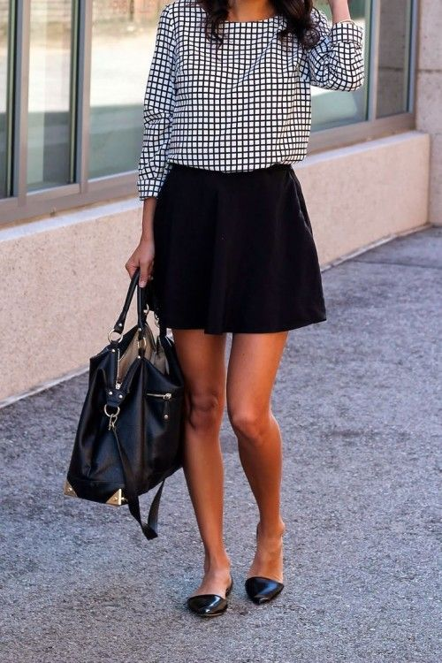 Comfortable work outfit with apartments