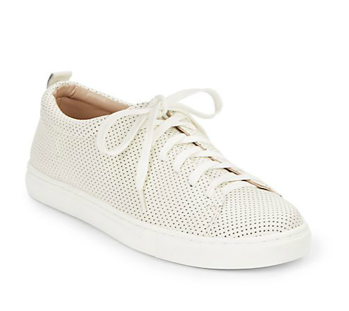 Dolce Vita Oriel perforated leather sneakers