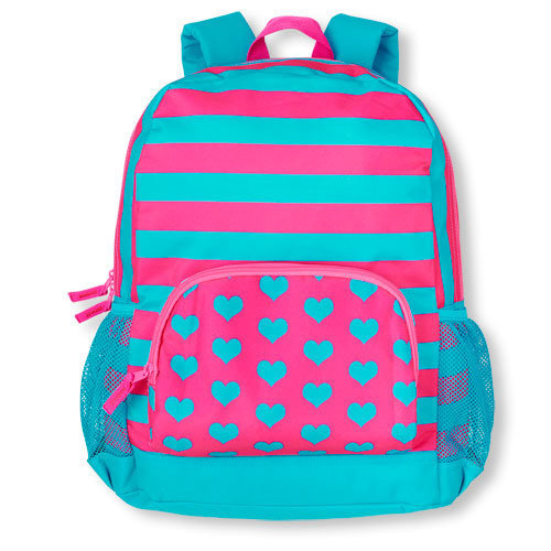 Children's space mixed print backpack, $ 12