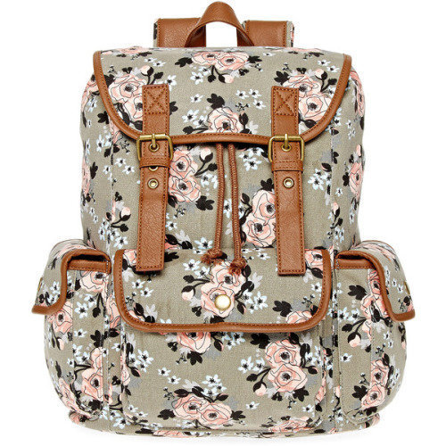 SM New York Floral Cargo Backpack, $ 25