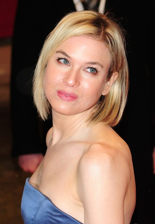 Short haircut - Renee Zellweger Bob hairstyle