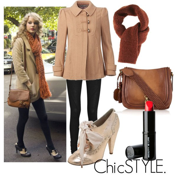 Brown outfit idea with oxford shoes