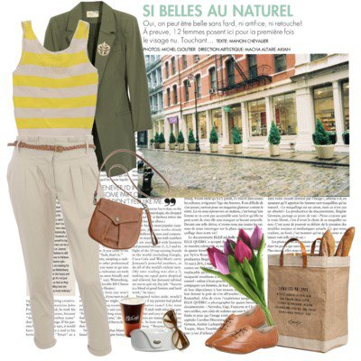 Chic outfit idea with oxford shoes