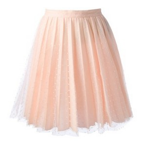 Pink VALENTINO pleated skirt