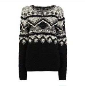 Warehouse Novelty Jumper, multicolor