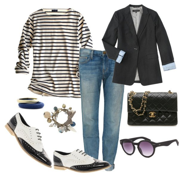 Simple Oxford shoe outfit