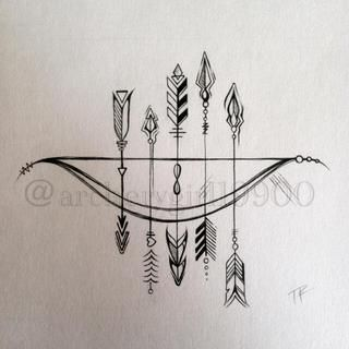 Amazing arrow tattoos for woman