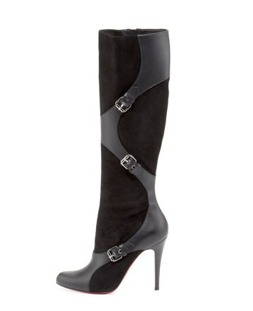Christian Louboutin Harness-Leather Harness Boot