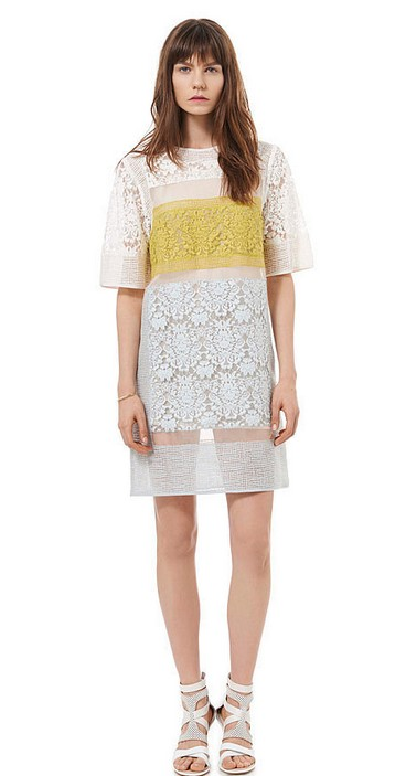 Rebecca Taylor Runway lace dress