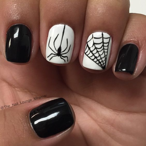 Easy spider nails over