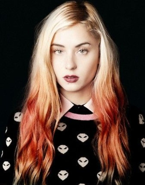 Blond and red hair