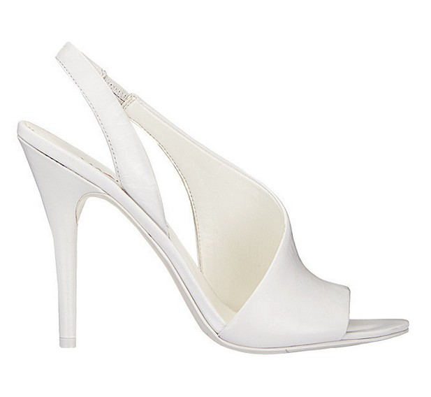 White leather sandal ($ 89)