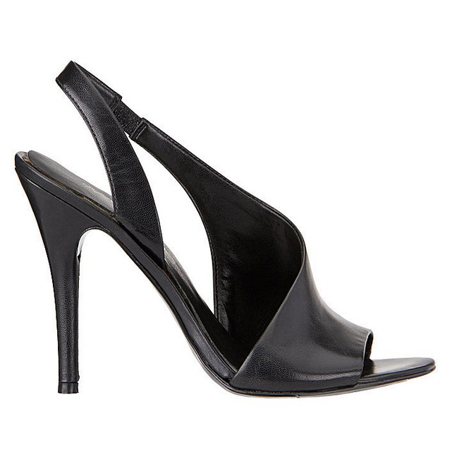 Black leather sandal ($ 89)