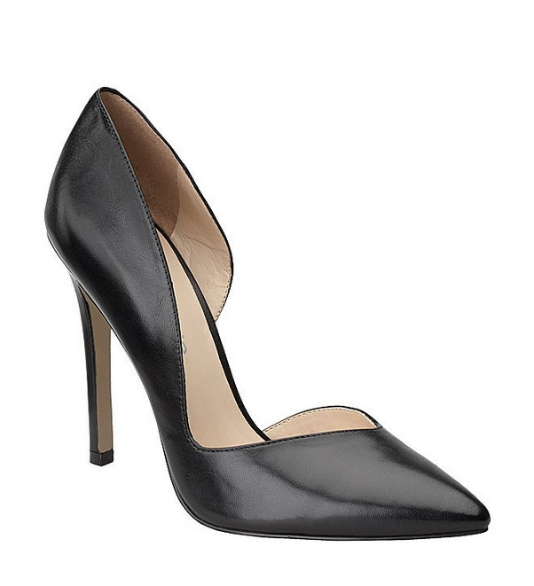 Black leather heel ($ 79)