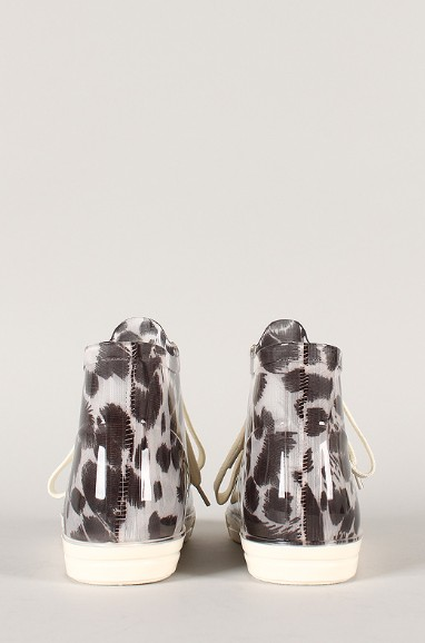 Back view of the Jelly Leopard lace-up sneakers