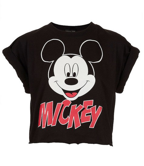 Topshop Mickey Crop Top ($ 32)