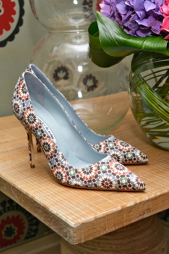 Manolo Blahnik shoes for the wedding 2014