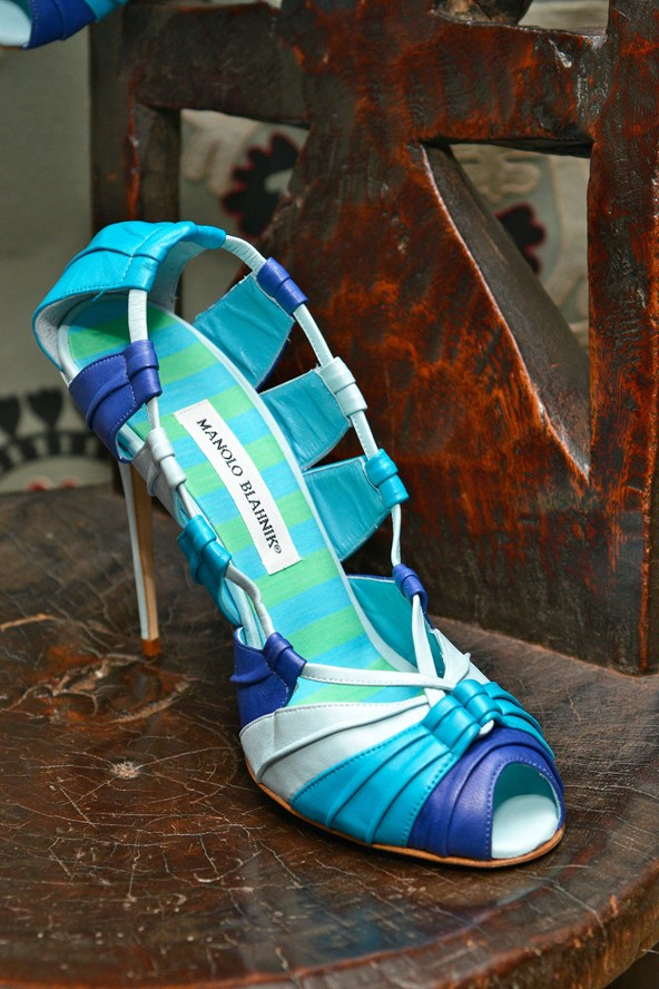 Colorful shoes for summer - Manolo Blahnik shoes