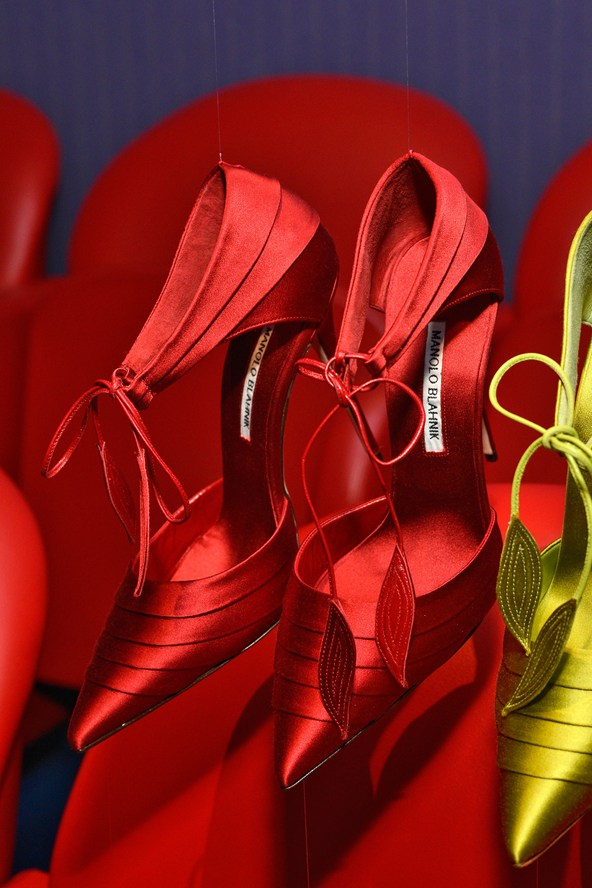 Women's shoes for the wedding - Manolo Blahnik wedding shoes for spring