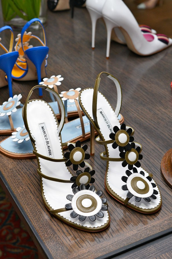 Romantic shoes for the summer wedding - Manolo Blahnik shoes
