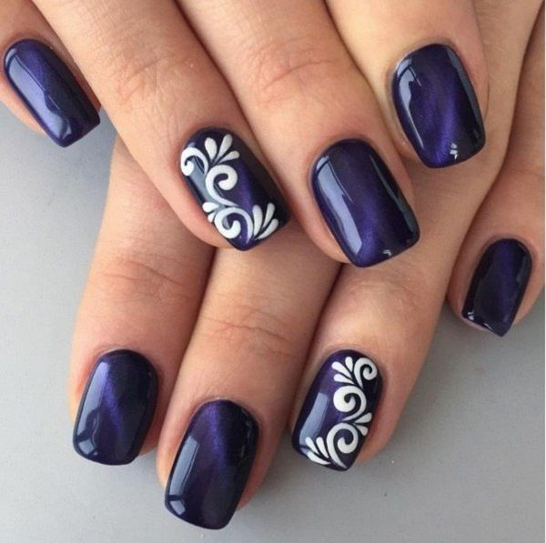 21 beautiful nail designs for long nails 2018