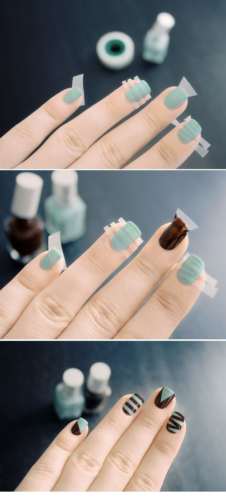 Cool and funny nail art design
