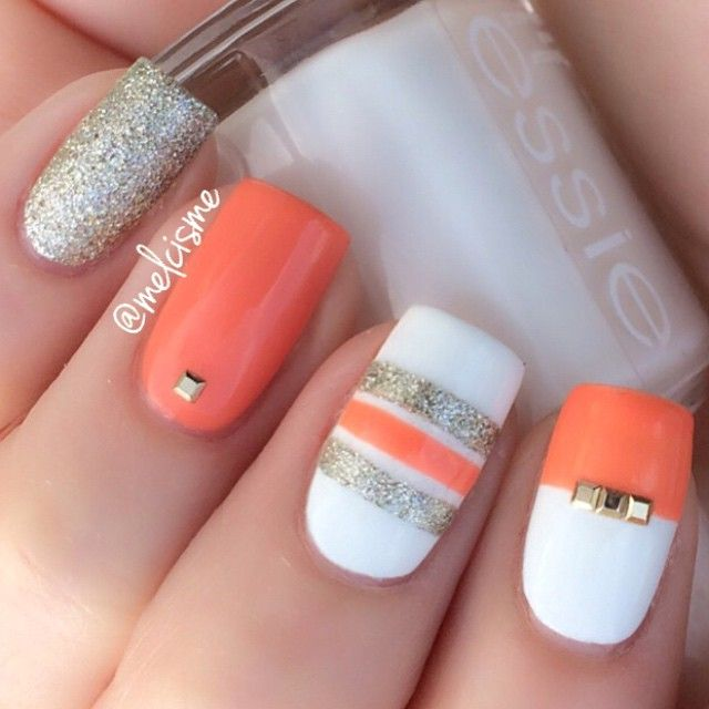 23 Sweet Spring Nail Art Ideas & Designs for Girls