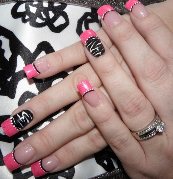 Nail polish designs for party