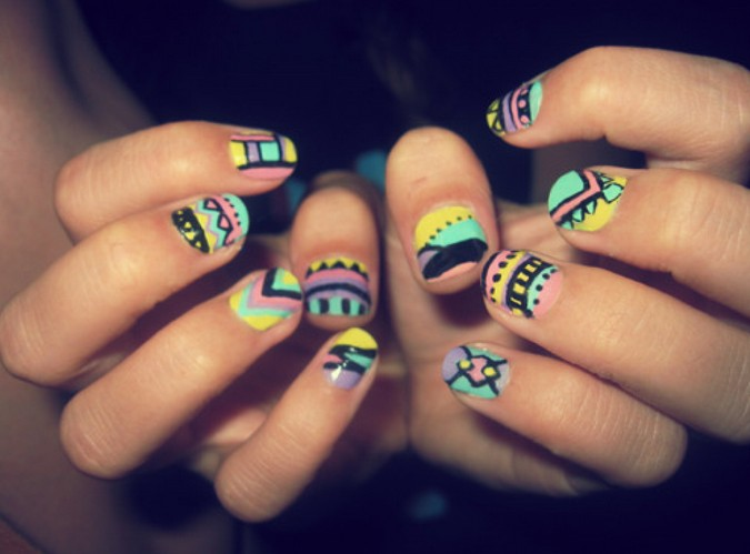 Cute nail designs for back to school