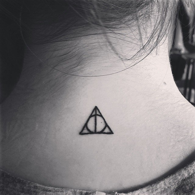 Harry Potter fan tattoo for women
